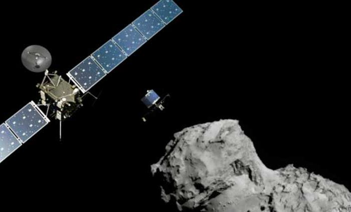 Проект Rosetta завершится 30 сентября