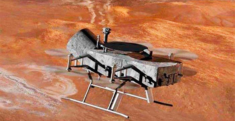 Титан созрел для вторжения дронов