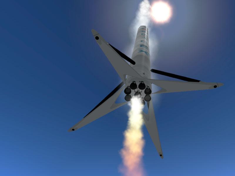 SpaceX запускает секретную миссию Zuma для правительства США