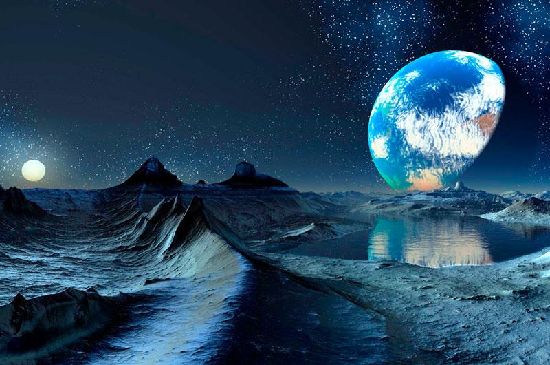 Человечество с другой планеты