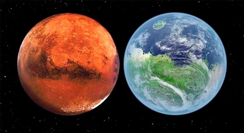 Марсианская працивилизация
