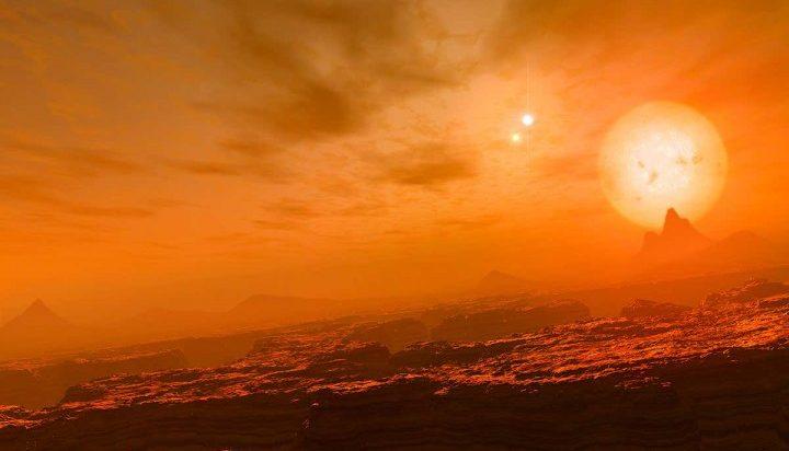 Три солнца и одна экзопланета