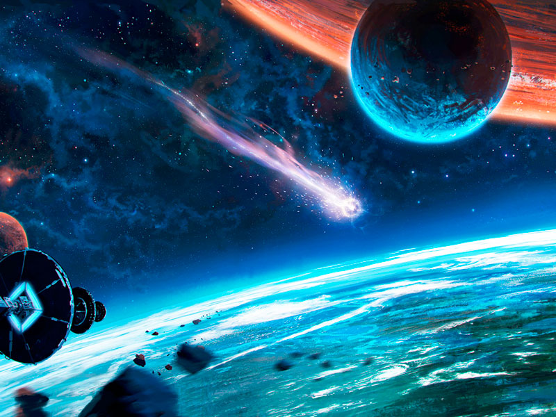 Мир космоса до нашей эры
