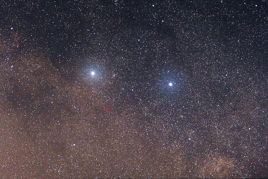 Сближение звездных систем