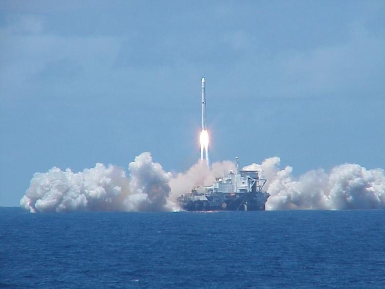 S7 Group перевезла стартовые платформы проекта «Морской старт» в Россию