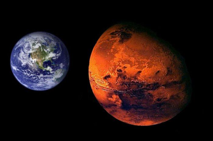 Марсианскую воду нельзя пить